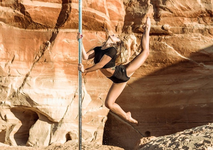 Exotic Pole workshops with Daria Chebotova